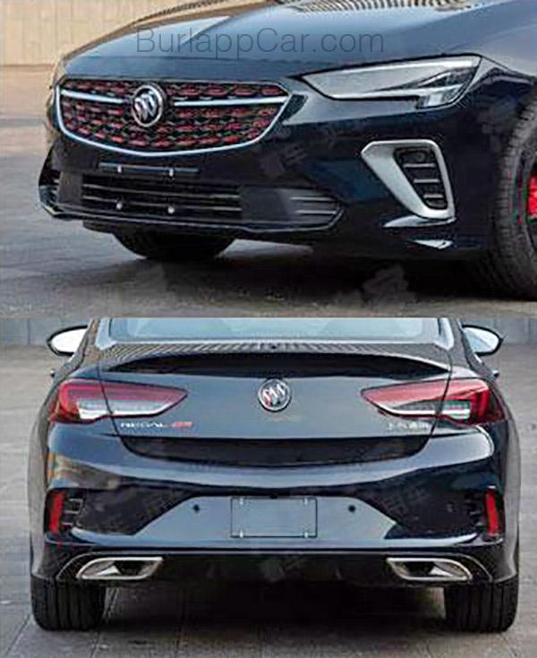 Burlappcar: 2020 Buick Regal GS