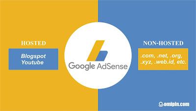 Ini Dia Perbedaan Akun Google Adsense Hosted dan Non Hosted