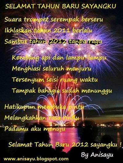 PUISI CINTA BY ANISAYU: Puisi Pantun Selamat Tahun Baru ...