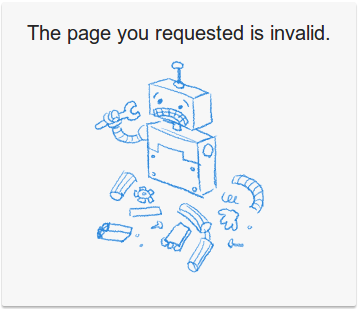 Cara Mengatasi Error The page you requested is invalid