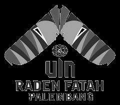Download logo UIN Raden Fatah hitam putih tanpa background PNG HD gambar CDR