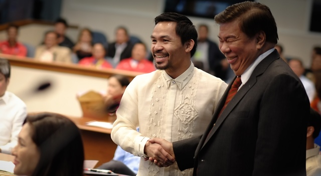 Pacquiao not ignorant but understands how Congress works unlike Drilon, says Teddy Casiño