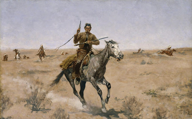 Paintings by Frederic Remington