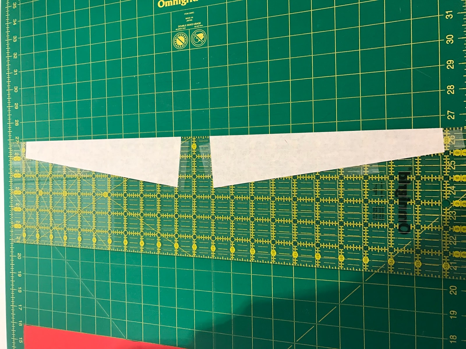 A Few Scraps: Making wedge quilts without a wedge ruler