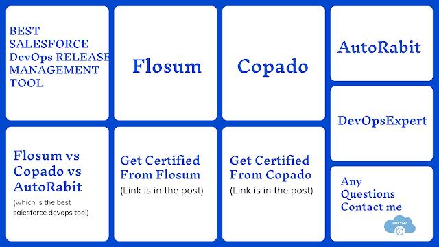 Flosum Vs AutoRabit Vs Copado : The Best Salesforce DevOps Release Management Tool