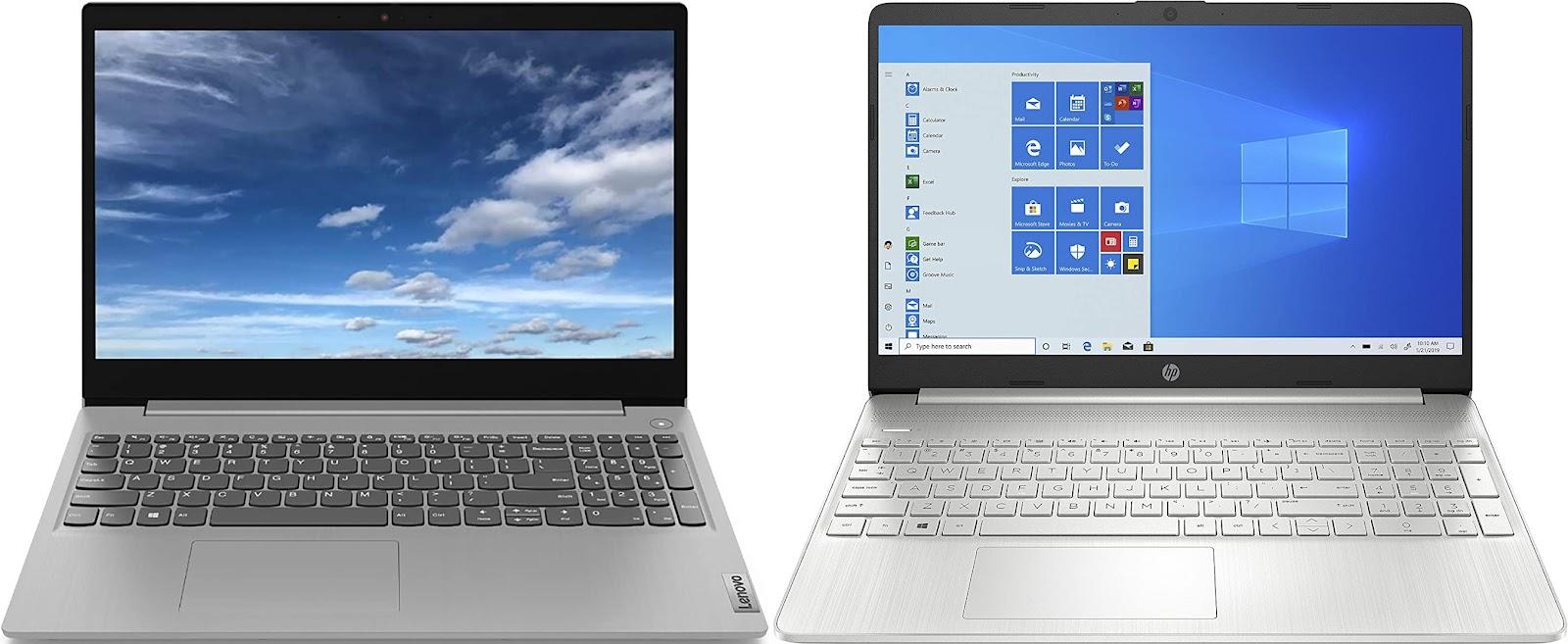Lenovo IdeaPad 3 15ALC6 vs HP 15s-eq1083ns