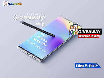 Free Galaxy Note 10 Plus