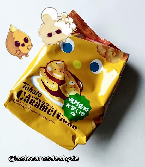 snakc dulce con caramelo