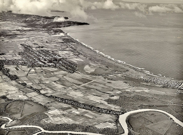 Aerial photograph of Nasugbu, Batangas taken in 1937.  Image source:  United States National Archives.