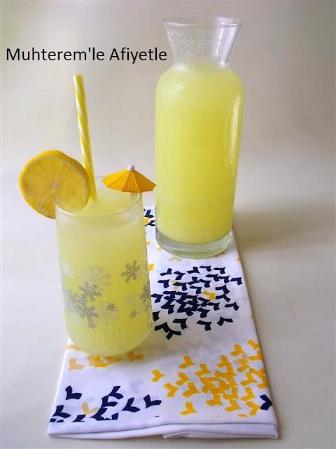 2 limon 1 portakal limonatası