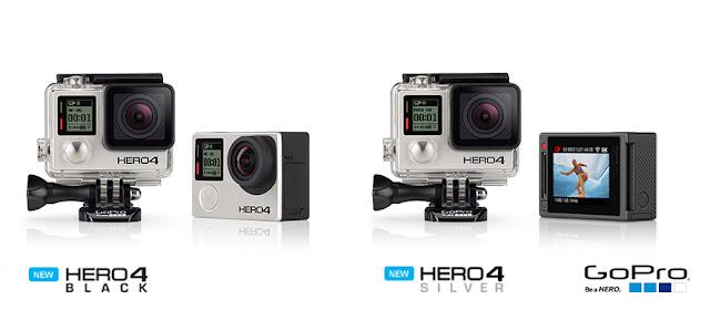 Gopro 4k cameras