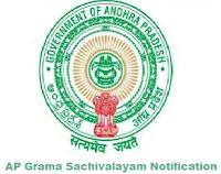 AP Grama Ward Sachivalayam Notification for 2146 Jobs