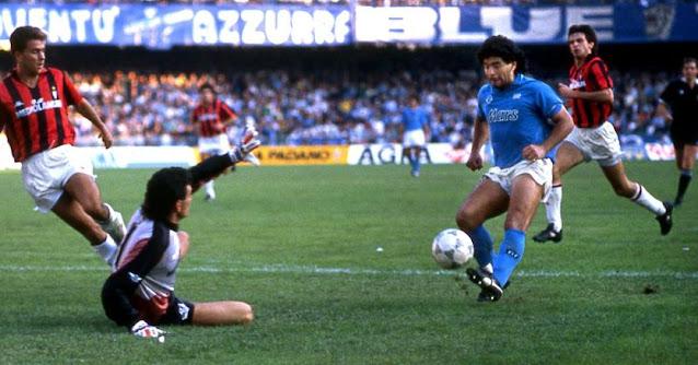 Diego Armando Maradona has played for SSC Napoli