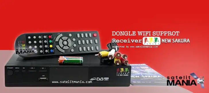 Dongle Wifi Untuk Receiver Tanaka T21 New Sakura