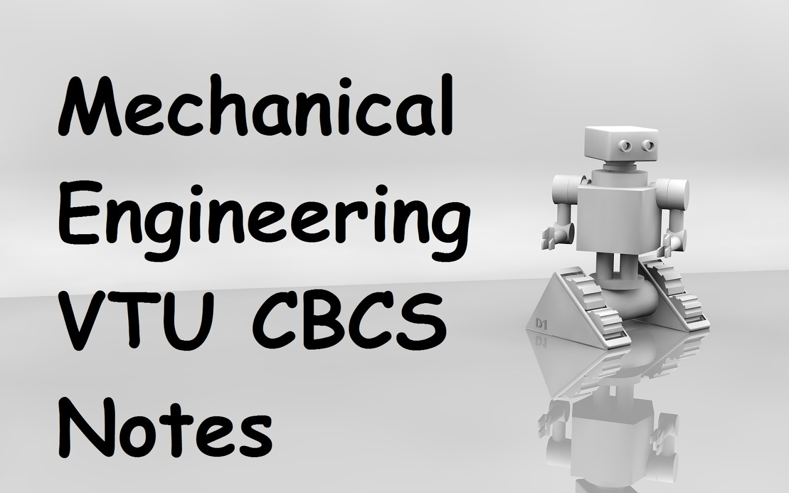Mechanical Engineering Notes - VTUPulse