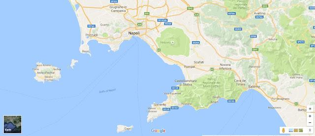 Napoli İtalya Google Maps