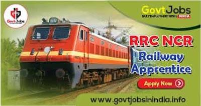 RRC NCR Railway Apprentice Recruitment Online Form