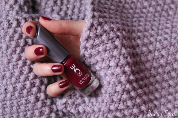 Лак для ногтей Oriflame The One, оттенок Ruby Rouge