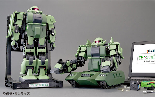 Zeonic Technics Robotics and Programming Kit
