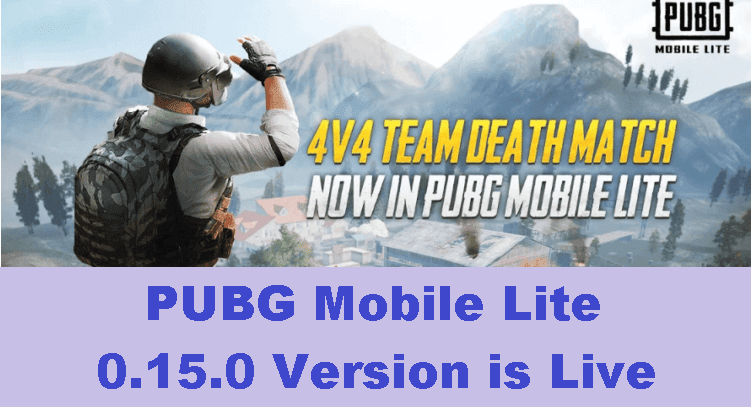 PUBG Mobile Lite: 0.15.0 Patch notes