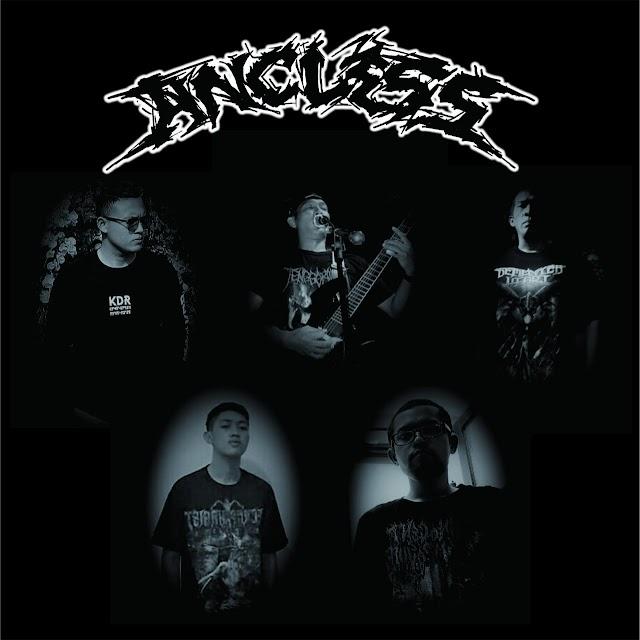 Mengupas History ANCLESS genre Thrash Metal yang berdiri di akhir Tahun 2017