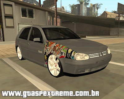Volkswagen Golf Flash Edit para grand theft auto