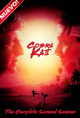 Cobra Kai (TV Series) S02 DVD R1 NTSC Latino 2XDVD5