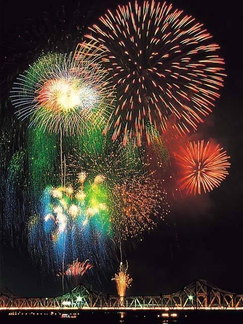 Nagaoka Matsuri Fireworks Festival, Nagaoka City, Niigata Pref.