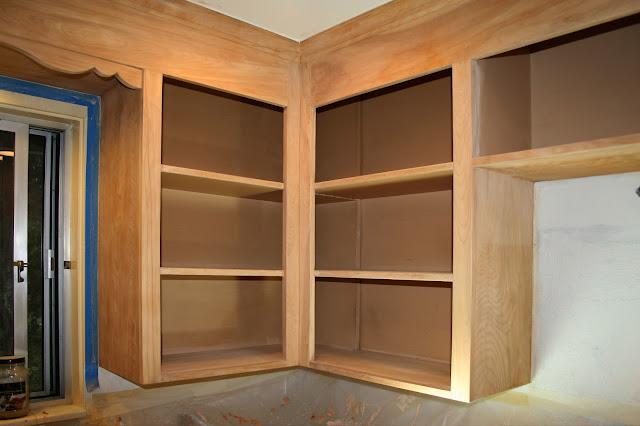 Cabinet Refinish