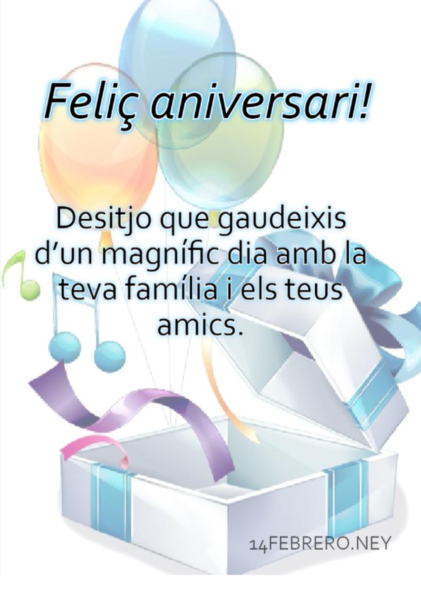Per Molts Anys Felicitacions Cumpleaños En Catalán Frases
