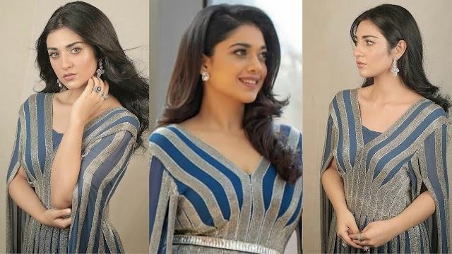 Beautiful Photos of  Sarah Khan And Sanam Jung Wearing Same Dress - Reviewit pak