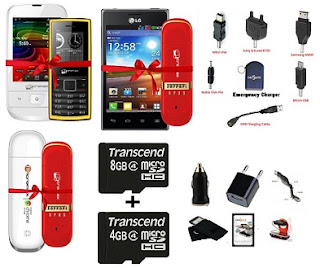 HomeShop18- Buy 1 Get 1 Free Offer on Mobile Handset & Accessories