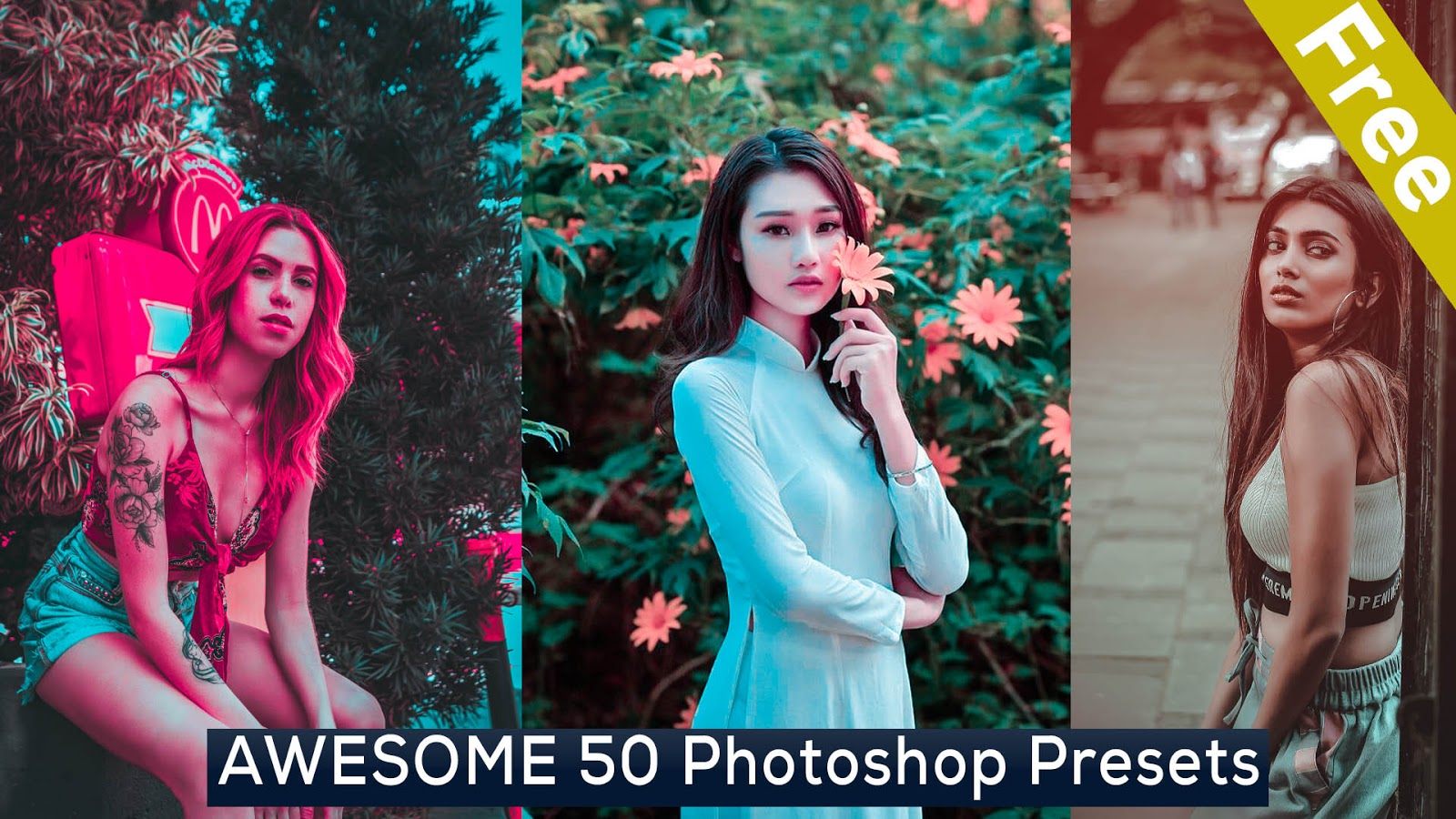 AWESOME 50 Photoshop Presets Free Download | Camera Raw Presets Free Download