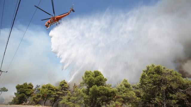 Αγωνία για τα πύρινα μέτωπα των πυρκαγιών της Ηλείας