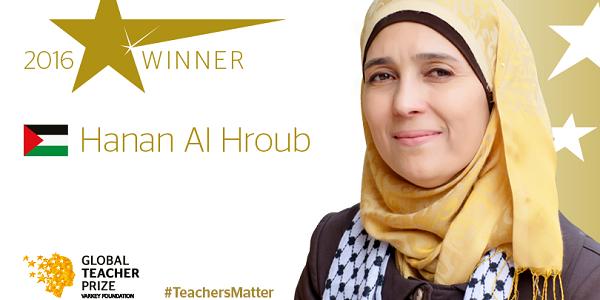 Hanan Al-Hroub, Global Teacher of The Year