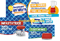 Logo Galbani ''Inventane un'altra'': gioca e vinci Frullatori, Tostapane, Impastatrici Smeg e un Buono spesa da 10.000€