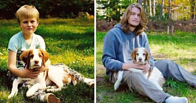 17 собак, выросших вместе со своими владельцами!
