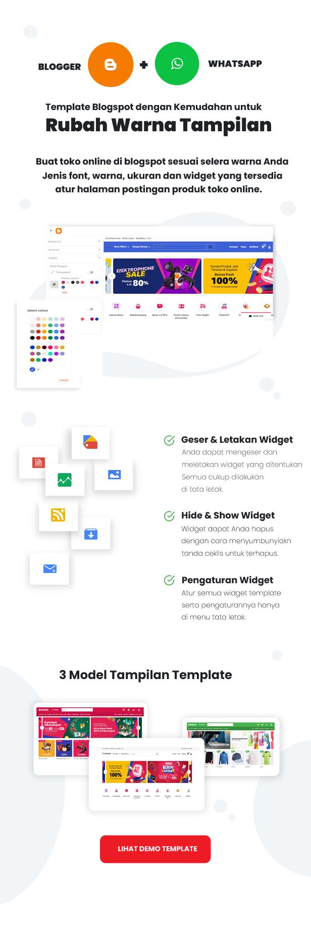 BukaBlog - eCommerce Template Blogger 2021