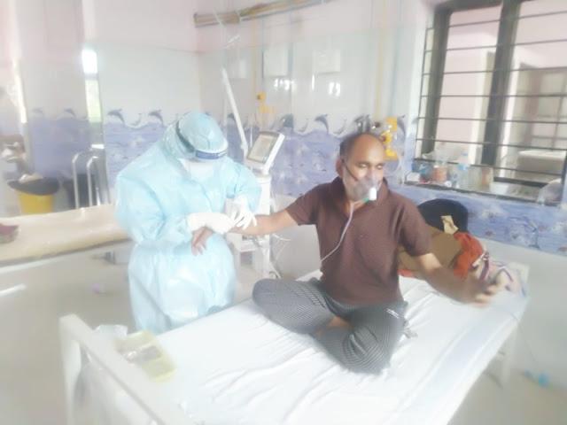 'पाॅझिटिव्ह रूग्णांना नर्सने बांधली राखी'
