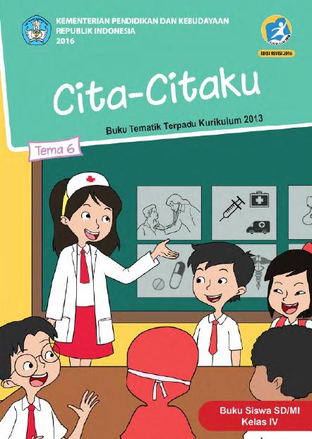 Kunci Jawaban Buku Tematik Tema 6 Kelas 4