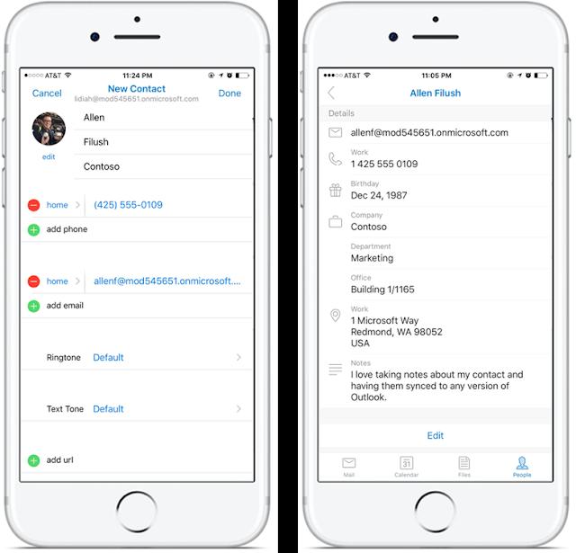Actualizaciones interesantes en Outlook para iOS y Android