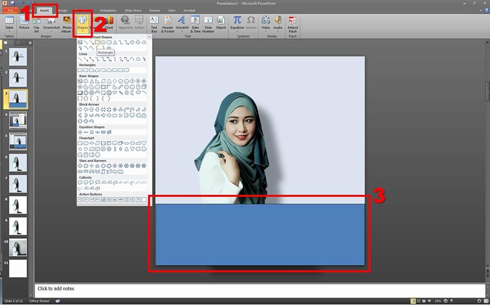 Cara Nak Edit Gambar Ala-Ala Photoshop Dengan Guna Powerpoint