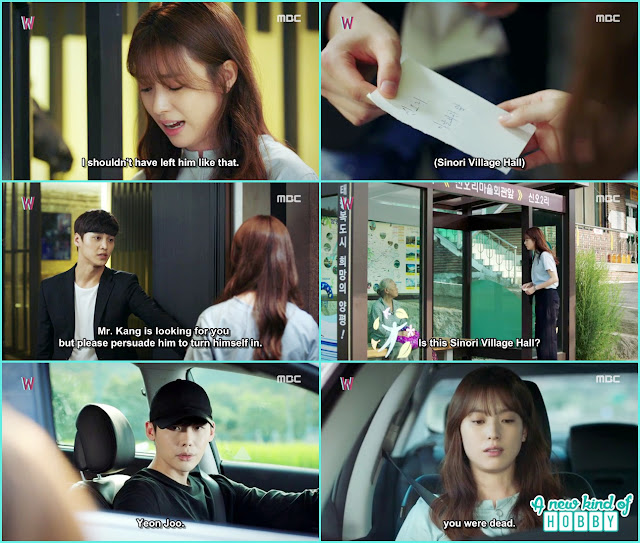 Yeon take help from Kang chul bodyguard Do Yoon - W - Episode 11 Review