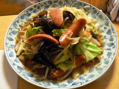 野菜炒め完成