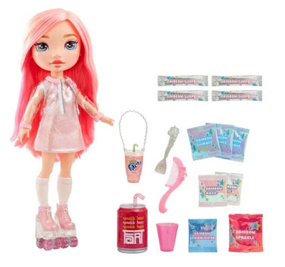 Кукла Poopsie Pink с розовыми волосами на роликах