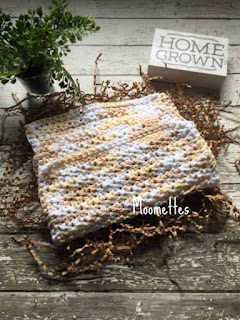 Handmade Cotton Dish Cloths Beige Washcloths