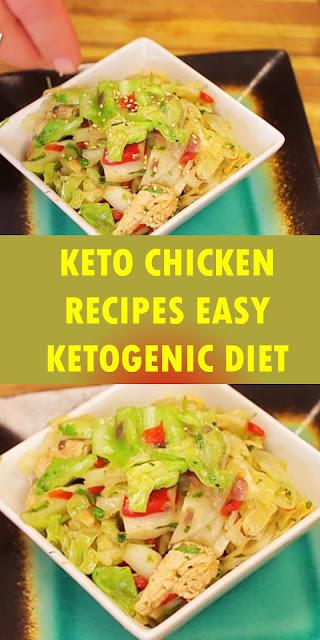 KETO CHICKEN RECIPES EASY KETOGENIC DIET