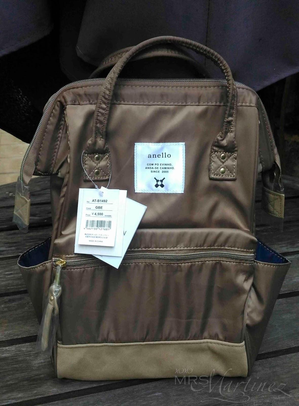 Anello Nylon Mini Backpack in Grey Beige   How to Spot a Fake ... b61edcf5c1