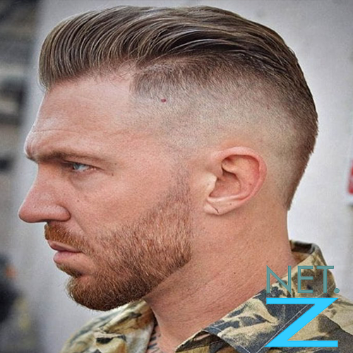 Army Ivy League Cut Hairstyle