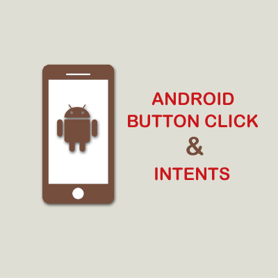 Android Button Click and Android Intent Example